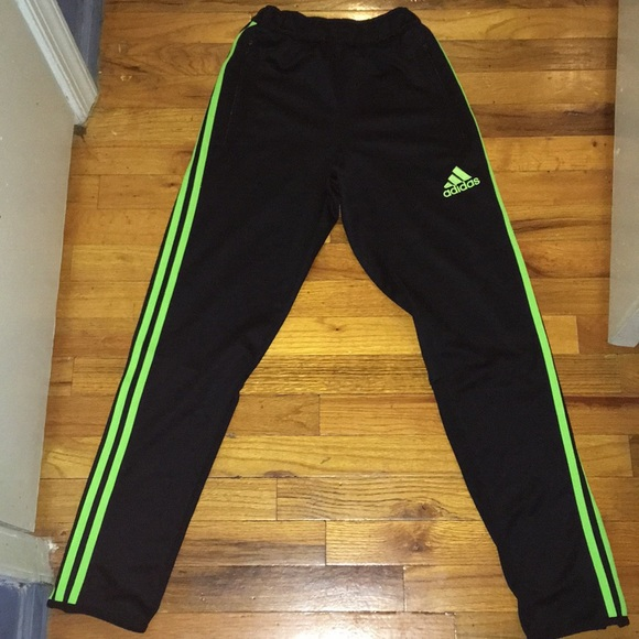 hardware Reactor Pautas  buy > adidas neon green and black snap track pants, Up to 73% OFF